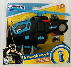 NIB Fisher Price Imaginext DC Super Friends Batcopter Batman Helicopter Toy $29.95