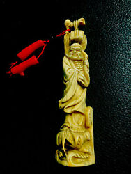 netsuke antique With Coral $860.00