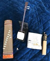 VINTAGE MINIATURE RARE JAPANESE INSTRUMENTS LOT * Cute for Dollhouse too *