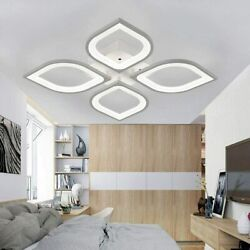 Modern LED Ceiling Dimmable Light Contemporary Acrylic Chandelier Living Room US $46.99
