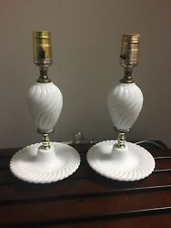 Pair Of Matching Vintage Lamps $37.00