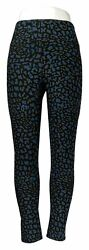 Legacy Leggings Sz M Brushed Jersey Leg. Blue Animal A342928 $16.99
