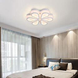 LED Ceiling Lamp Eye protection Creative Corded Chandelier Living Room Bedroom $82.00