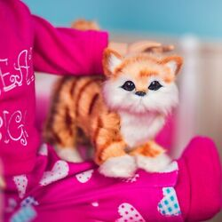 The Queen#x27;s Treasures TABBY KITTY CAT Accessory Pet For 18quot; American Girl Dolls $13.99
