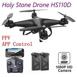 Holy Stone RC Drone HS110D with 1080P FPV Video Wide angle Lens Camera Wifi App $61.99