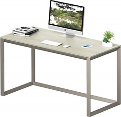 SHW Triangle Leg Home Office Computer Desk Silver Gray $144.12