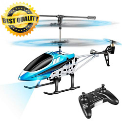 VATOS RC Helicopters Remote Control Helicopter with Gyro and LED Light 3... $39.09