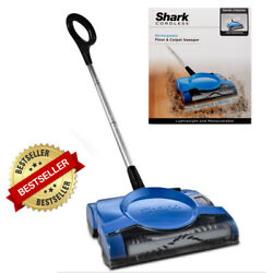 NEW Shark Cordless Rechargeable Floor and Carpet Sweeper V2700Z BLUE $42.99