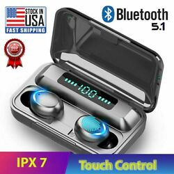 Bluetooth Earbuds for Iphone Samsung Android Wireless Earphone IPX7 WaterProof $14.89