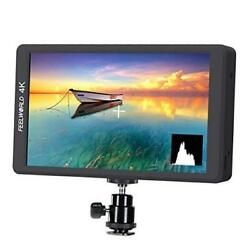 F570 5.7 inch DSLR On Camera Field Monitor Small HD Focus Video Assist IPS $277.68