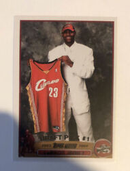 Lebron James 2003 #221 RC Rookie Cavaliers Lakers Mint Reprint Draft Pick #1 $10.00