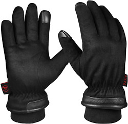 Ozero Gloves Thermal Gloves For Men Extreme Cold Freezer Gloves For Work Below Z $41.99