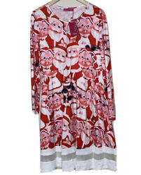 Ugly Christmas Dress with Santa and Mrs. Claus Size XL $19.00