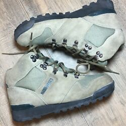 Merrell Taos Womens Boots Size 7 Leather Canvas Euc $44.99