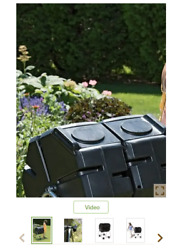 Dual Batch Compost Tumbler with Wheels $130.00