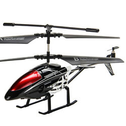 Alloy RC Helicopter 3.5CH Mini Plane Metal RC Crash Proof Remote Control Gift US $39.99