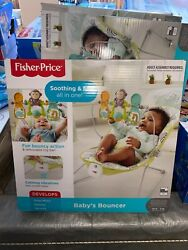 Fisher Price 2 in 1 Sensory Stages Baby Bouncer amp; Seat Songs Calming Vibrations $44.44