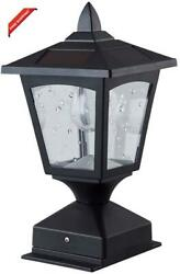 Solar Post Lights OutdoorPillar LampRetro LampsSolar Lamp Post Cap Lights Wat $40.47