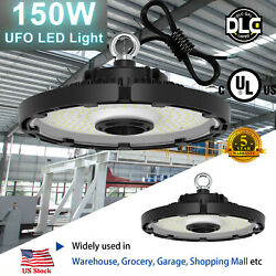 150W Dimmable LED UFO High Bay Lighting Listed Warehouse Commercial Light ULamp;DLC