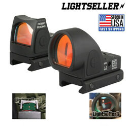 Mini For RMR Red Dot Sight Scope Collimator fit 20mm Weaver Rail For Glock Rifle $4.89