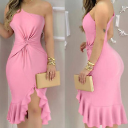 Women Sexy Dresses Slim Dress Bodycon Nightclub Off Shoulder Party Ball Dresses