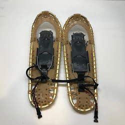 Custom Handmade Sherpa Mountain Snowshoes vintage 25quot; fitted for mountaineering $149.99