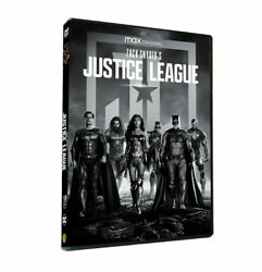 Zack Snyder#x27;s Justice League 4h 1 Disc Set Region 1 BRAND NEW Fast Shipping $10.99