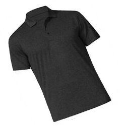 Neckline golf shirt with adjustable button long enough for brooch simple plain $26.00
