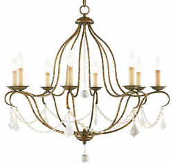 Livex Lighting 6428 Chesterfield 8 Light 1 Tier Chandelier Bronze $549.90