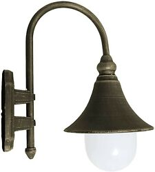Exterior Wall Light Fixture Vintage Sconce Rustic Outdoor Porch Oil Rubbed Metal
