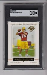 2005 TOPPS #431 AARON RODGERS RC WITH SGC 10 GRADE GREEN BAY PACKERS $699.95