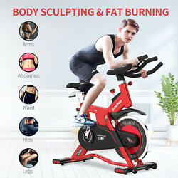 Commercial Indoor Cycling Bike Stationary Exercise Bike Cardio Workout Bicycle