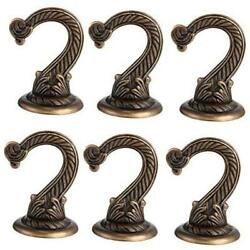 6 Pieces Ceiling Hooks Heavy Duty Swag Hook Hanging Plants Chandeliers Bronze $26.31