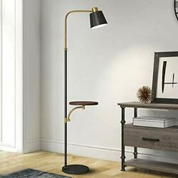 """OYEARS Modern Floor Lamp with Table for Living Room 65"""" Tray Floor Lamp for B... $121.66"""