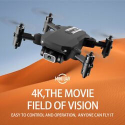 FPV Wifi RC Drone HD 4K Camera Foldable Quadcopter Selfie For Adults Kids USA $40.39