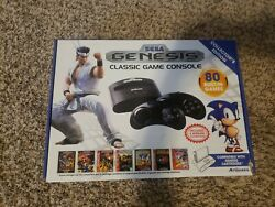Sega Genesis Mini With 2 wireless controllers and 80 built in games $200.00
