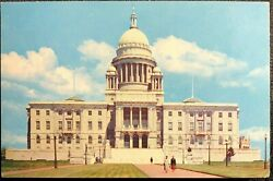 State Capitol Providence Rhode Island Postcard $3.90