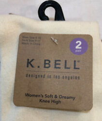 k bell womens socks 2 Pair $8.00