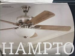 Replacement Parts Hampton Bay Rothley II 52quot; LED Brushed Nickel Ceiling Fan $10.00