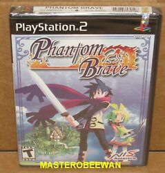 Phantom Brave Special Edition Sony PlayStation 2 2004 PS2 New Sealed $89.99