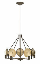 Hinkley Lighting 4535 Boyer 5 Light 28quot;W Chandelier Bronze $137.26