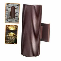 Outdoor Wall Sconce Exterior Lighting ETL Listed Die Casting Brown