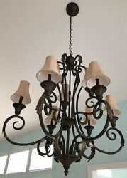 chandelier antique $100.00