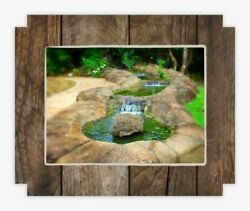 Brand New Zen Art on Canvas Wood Frame 100% made in the USA. Limited Edition. $59.99