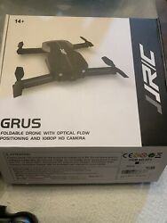 JJRC GRUS Foldable 1080P HD Camera Drone With Optical Flow Positioning USED READ $50.00
