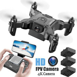 Mini Drone With Hd Camera Hight Hold Mode Rc Quadcopter Rtf Wifi $1.01