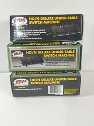 Atlas HO N #66 Deluxe Under Table Switch Machine Lot of 3 $42.00