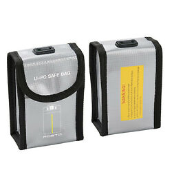 For FIMI X8 Mini Drone Battery Safe Fireproof Bag Storage Box Protective Case $9.91