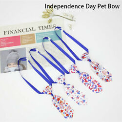 Lovely Dog Ties Pet Bowties Independence Day Pet Supplies Grooming Produ^AA $2.32