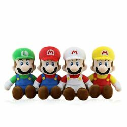 Super Mario Bros Fire Mario Plush All Star 12quot; Soft Toys Figure Doll Kids Gift $15.99